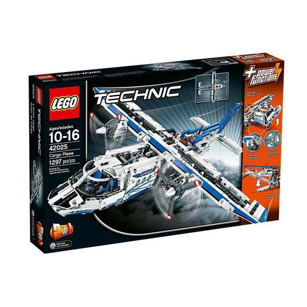 Lego Technic Avion De Mercancias Edad Recomendada A Partir De 10