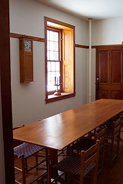 Genial Dining Room   Hancock Shaker Village   Photo By Nancy Nehez Meuble De Style,  Maison
