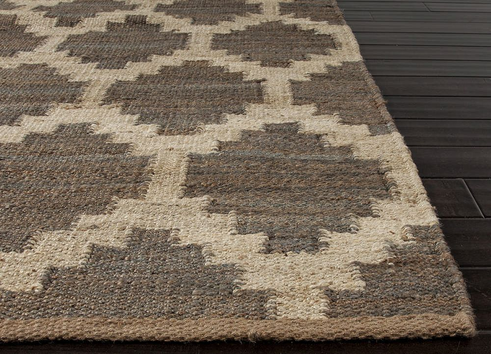 Buy Jaipur Rugs Flat Weave Moroccan Pattern Beige And Brown Hemp And Jute  Handmade Rug