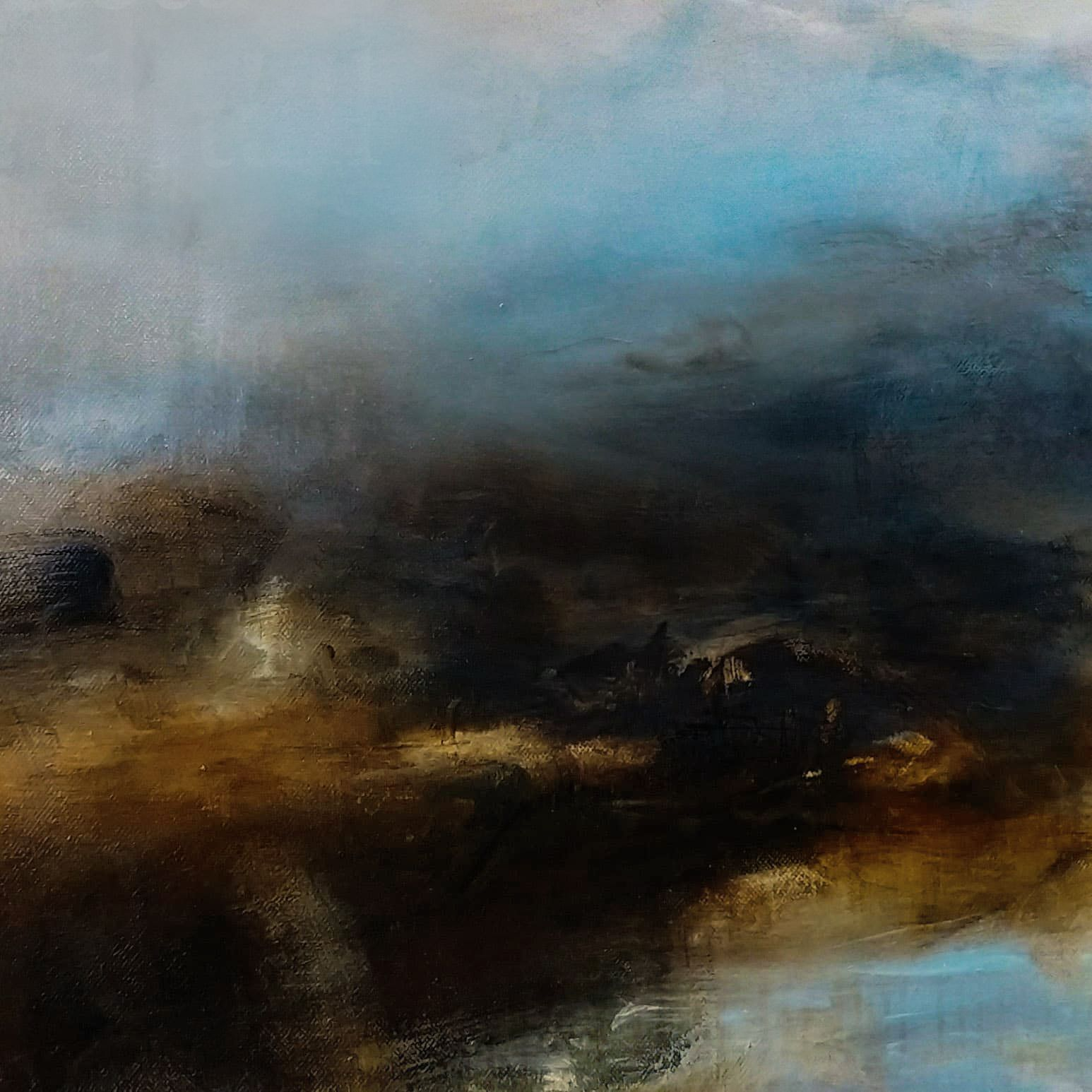 Kerr Ashmore Landscape Painting Contemporary Art Abstract Landscape Abstract Art Painting Landscape Art Modern Artwork