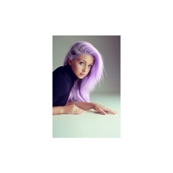 hair ideas ❤ liked on Polyvore featuring hair, colored hair, people and purple hair