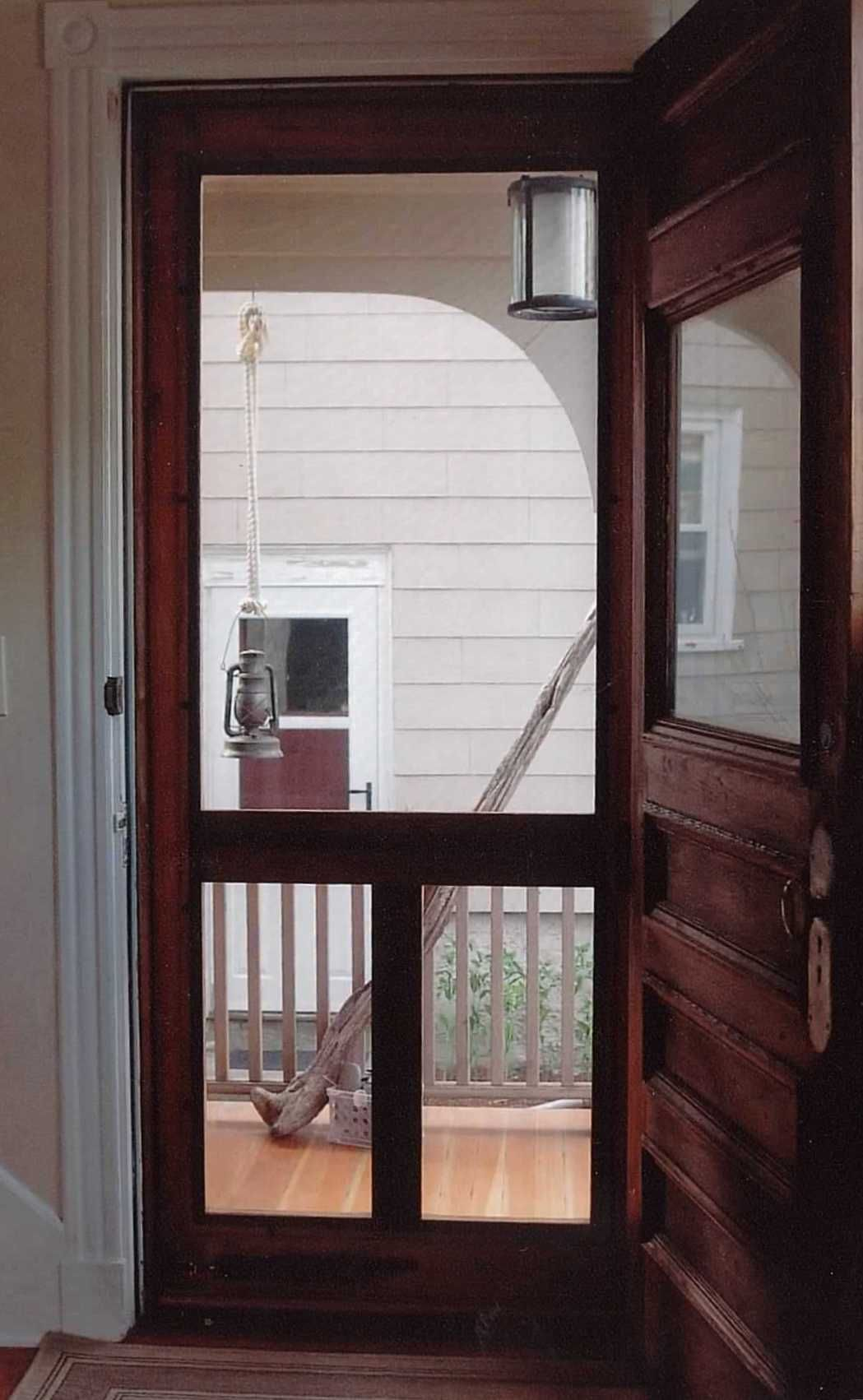 Doors With Screen: Traditional Screen & Storm Door