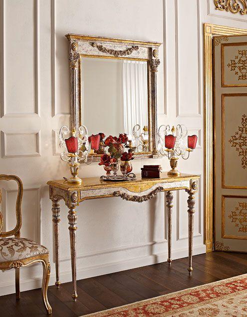 Mobili consolle classiche e di lusso in stile veneziano e ...