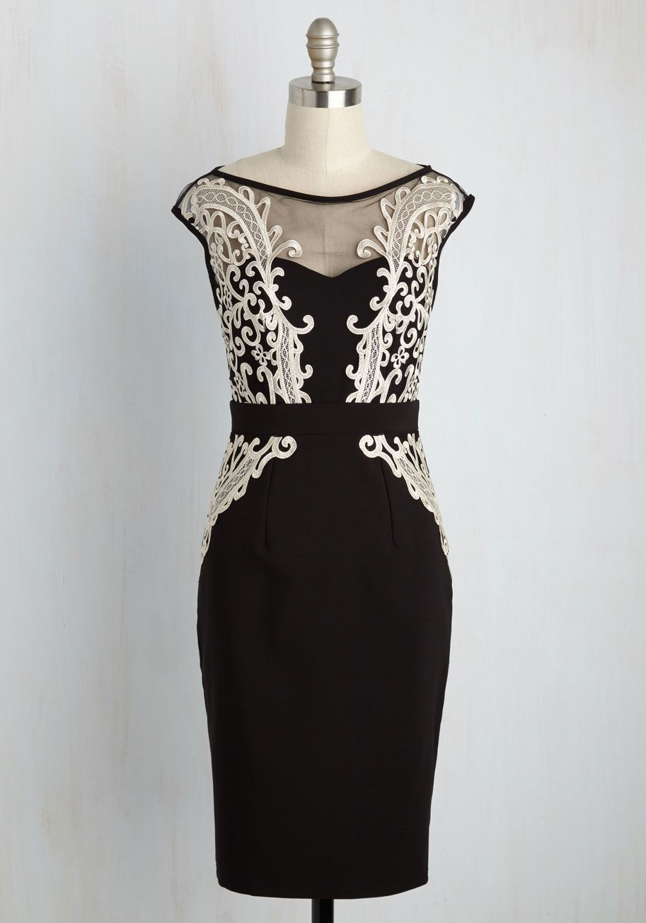 Fashion style Dinner fancy dress black for woman