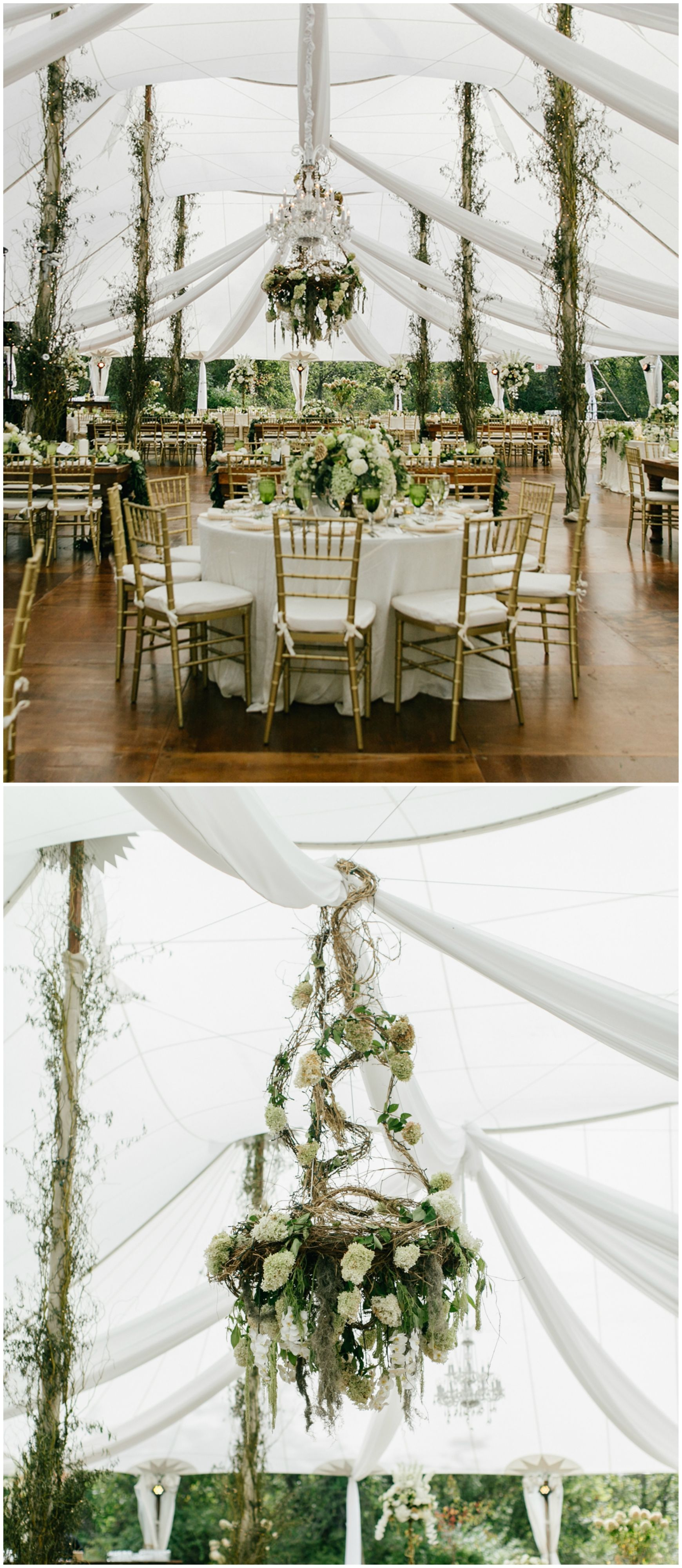 Sperry tented wedding