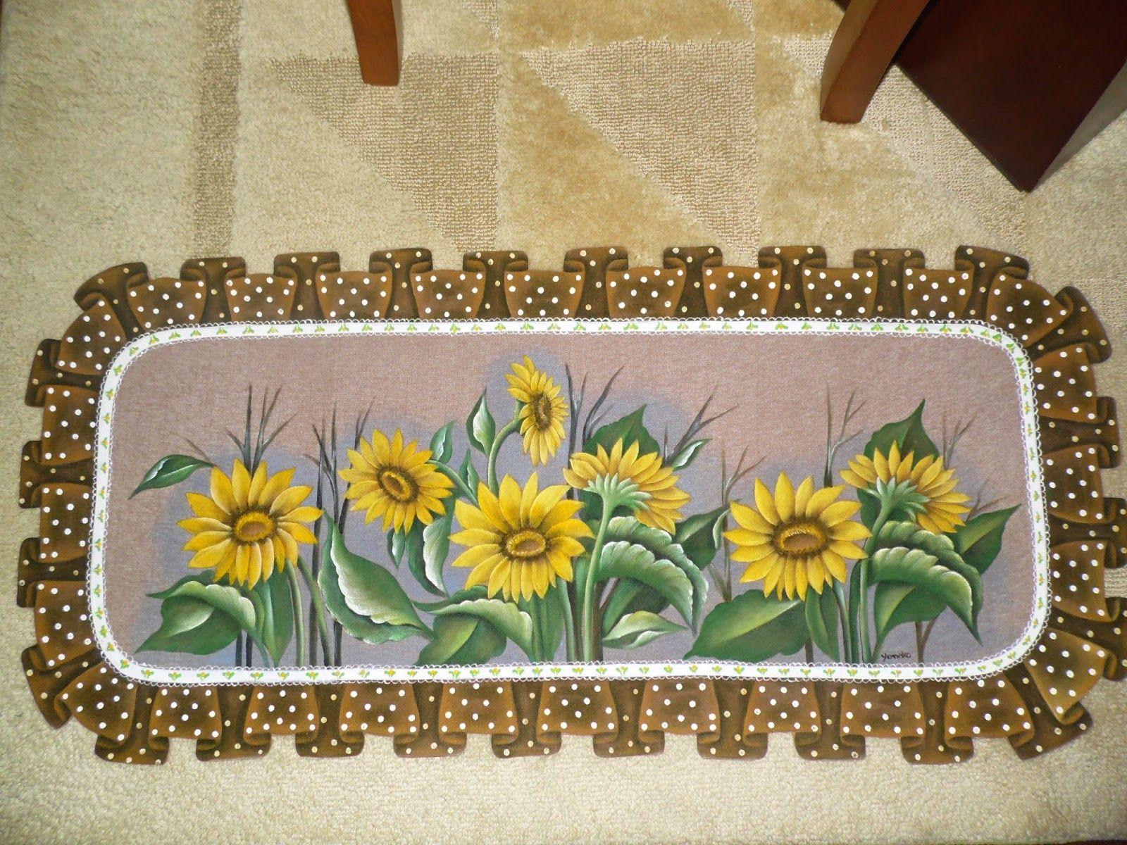 Yoneko Arte Tapete Emborrachado Pintado A M O Risco Pintura  -> Tapete De Sala Pintado