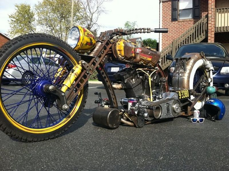 Custom Rat Motorcycles We Also Build Turnkey Rods And Rod Frames