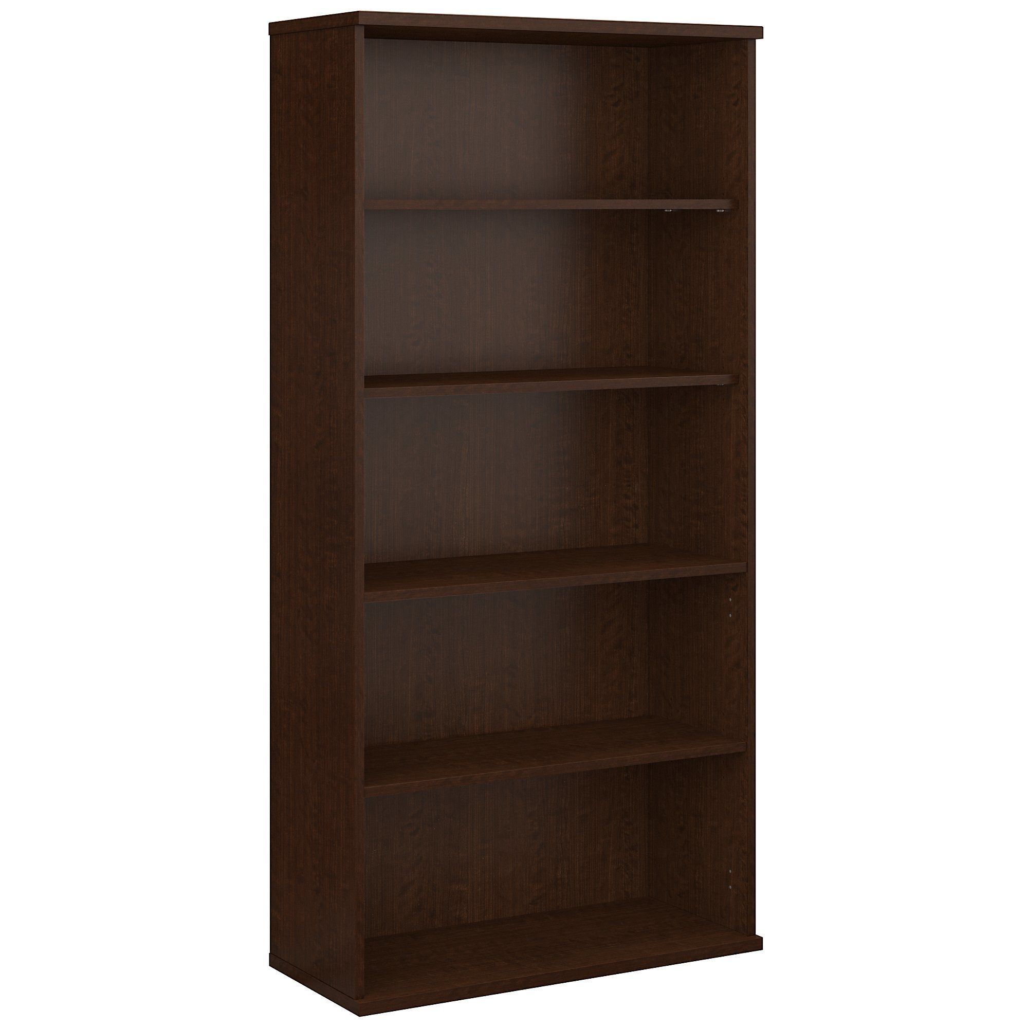 Series C Standard Bookcase Bush Business Furniture Bookcase 5 Shelf Bookcase
