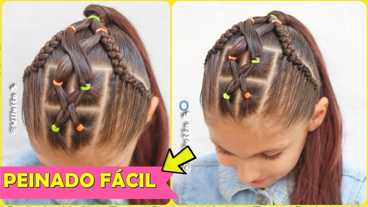 Este Tipo De Peinados Nos Muestra La Personalidad De Cada Persona Muestra Que Es Un Peinado Peinados Elegantes Para Ninas Peinados Infantiles Trenzas De Ninas
