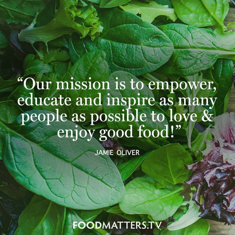Empower. Educate. Inspire. www.foodmatters.com #foodmatters #FMquotes