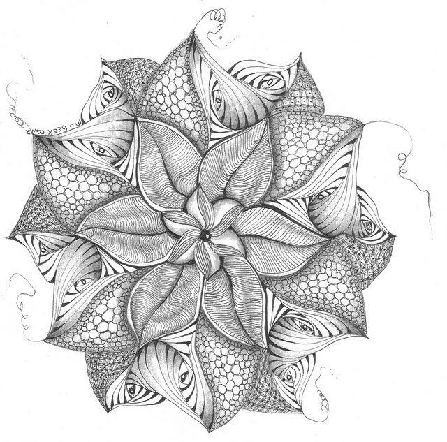 Zendala 2 | Mandala para colorear, Mandalas y Colorear