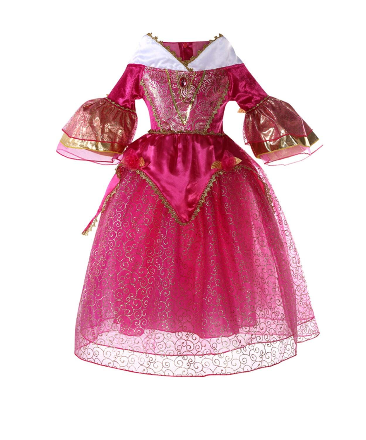 SINMOO Sleeping Beauty Deluxe Pink Party Princess Aurora