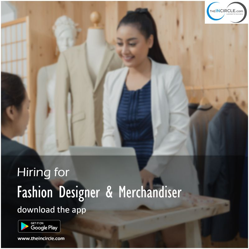 To Get Job Easily For Fashion Designer In Delhi Apply Through The Best Job Site Theincircle Com Fashion Design Jobs Resume Design Fashion Design