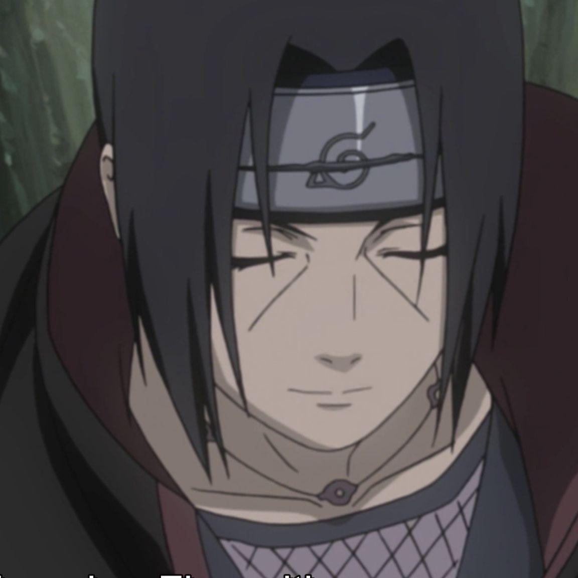 Itachi Smiling Itachi Anime Naruto