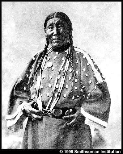 Susie Shot In The Eye (the wife of Mashed Fingernails) - Oglala - circa 1899