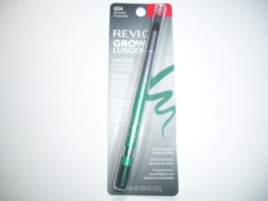 New In Package Revlon Grow Luscious Eyeliner Lash Liner Emerald Free Shipping