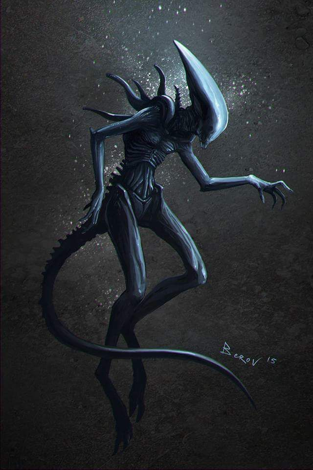 Deacon Alien | Art in 2019 | Alien painting, Giger alien