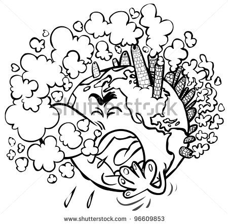 earth having a cough outline drawing stock photo outline drawings drawings stock photos earth having a cough outline drawing