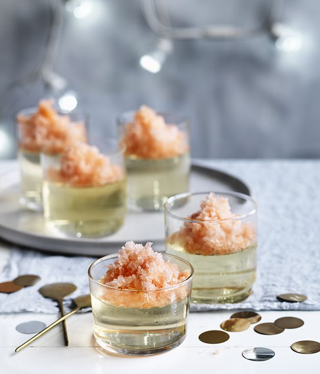 Prosecco jellies with aperol granita recipe prosecco gourmet prosecco jellies with aperol granita forumfinder Choice Image