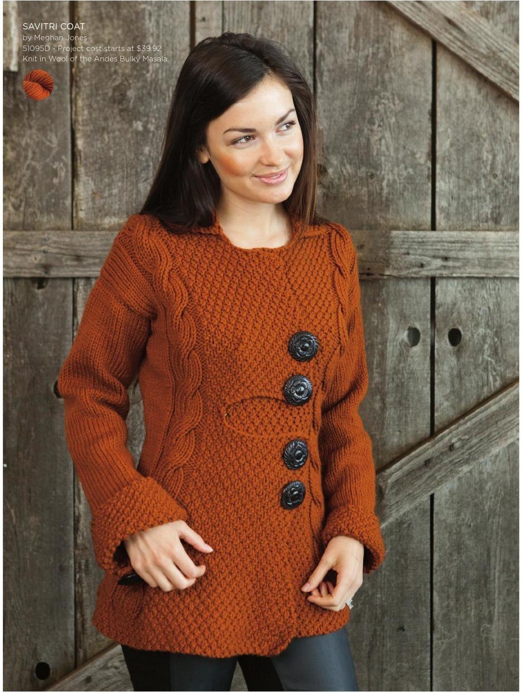 Knit Picks September 2013 Catalog Preview Coat patterns