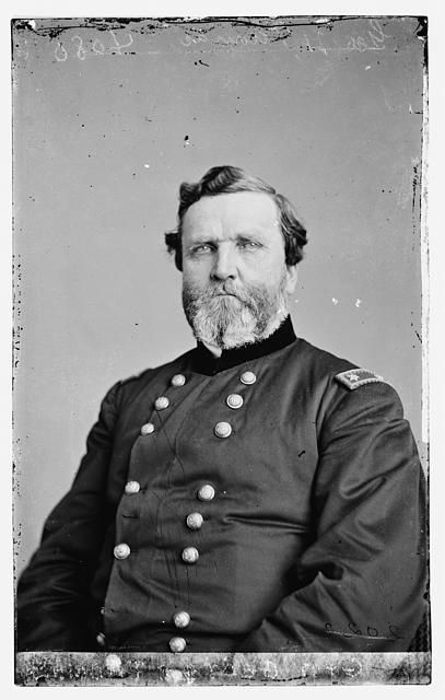 """Gen. George H. Thomas. """"The Rock of Chickamauga."""" A Southerner who stayed loyal to the Union at the expense of his relations with his two sisters. His men called him """"Pappy"""" out of affection."""