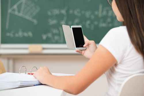 6 New Technology In The Classroom Tricks Classroom Technology Educational Technology Cell Phones In School