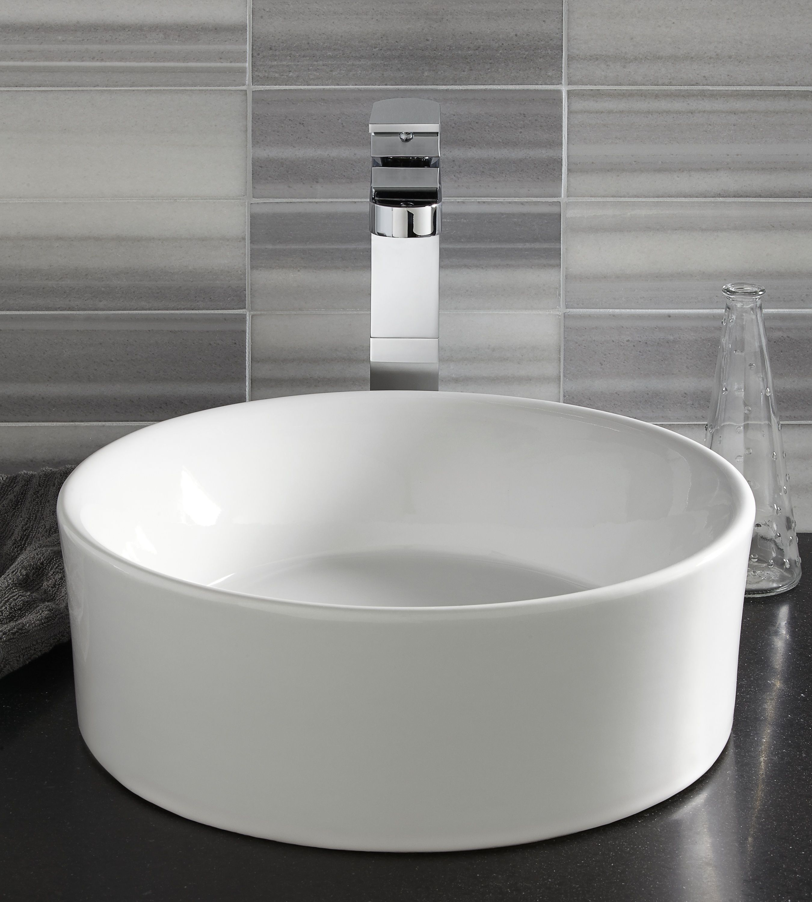 Dxv By American Standard Golden Era Pop Round Vessel Sink