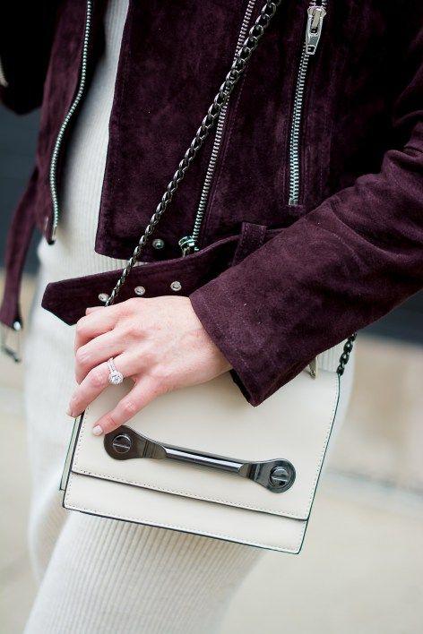 aed41fda zara-rib-knit-bodycon-midi-dress-blank-nyc-burgundy-suede-moto-jacket