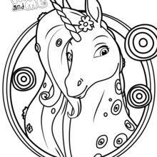 coloriage mia et moi licorne coloriage mia et moi licorne - couleur est parmi les les plus
