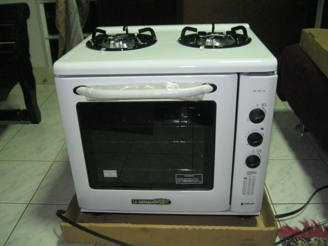 Biggest Oven Found La Germania Compact Range 263 Table Top