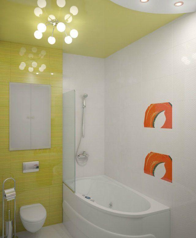 Aménagement salle de bains sans fenêtres- 30 idées supers Bath