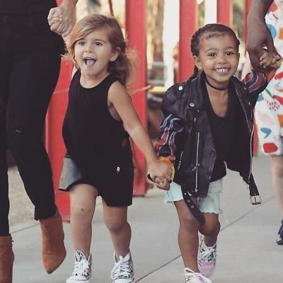 North West and Penelope Disick Are Too Cute Taking Salsa Lessons ...
