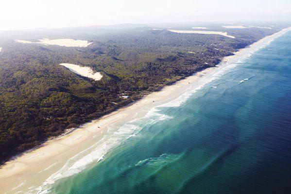 At 120km long and 30km wide, Fraser Island is the world's largest sand island #TravelerChats #AustraliaDay  www.parkmyvan.com.au #ParkMyVan #Australia #Travel #RoadTrip #Backpacking #VanHire #CaravanHire