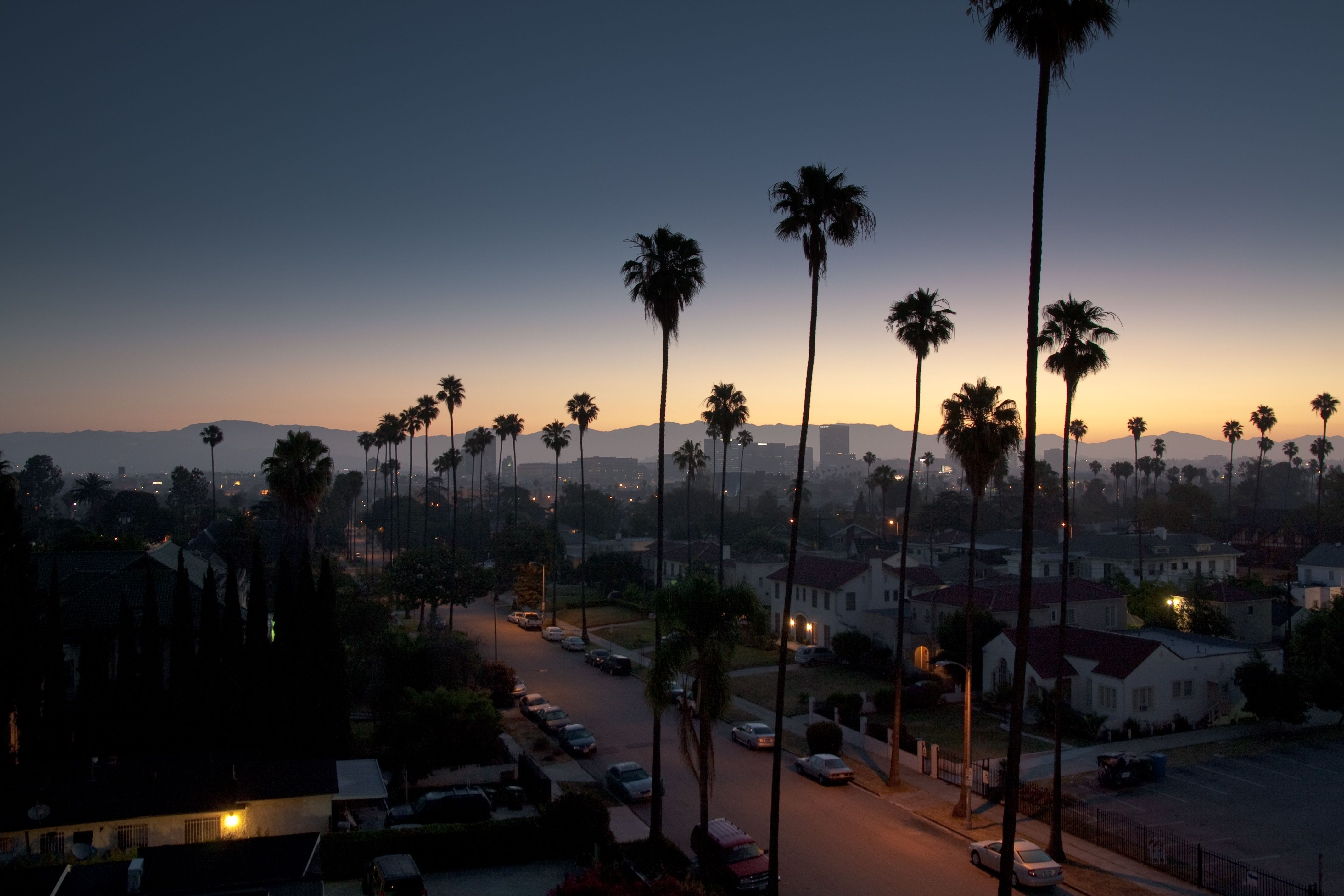 10 Top Los Angeles Hd Wallpaper Full Hd 1080p For Pc Desktop Los Angeles Wallpaper Los Angeles Palm Trees City Landscape