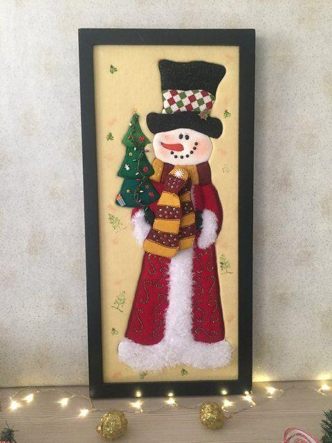 Cuadro de navidad casa u oficina navidad pinterest for Cuadros de navidad