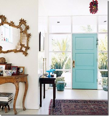 pale blue coloured door - loads more on this page