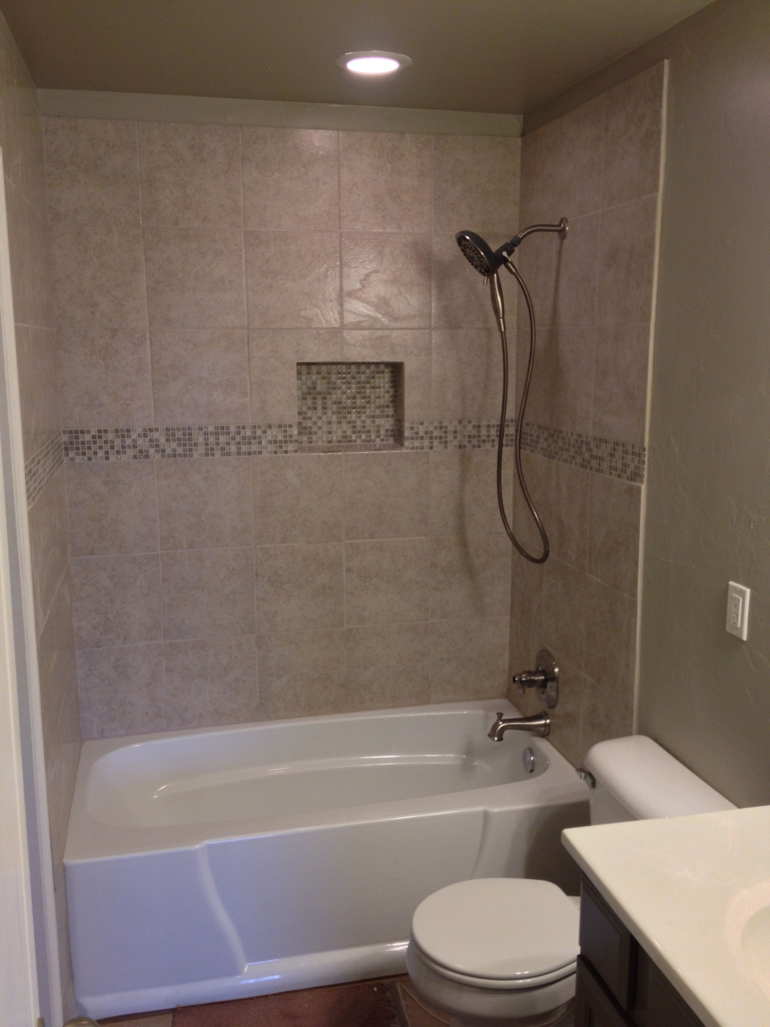 Bathroom Remodel Edmond Ok oklahoma city & edmond showers and backsplash: new bathtub and