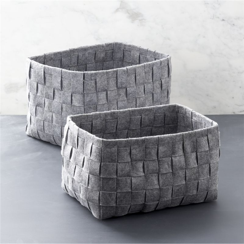 High Quality Leather Hen Desk Organizer. Storage CratesStorage BasketsLaundry ...
