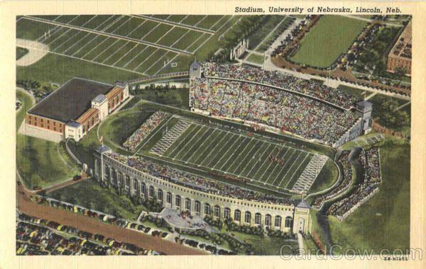 Stadium University Of Nebraska Nebraska Cornhuskers Football