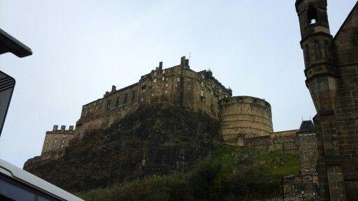 Edinburgh castle beware. ....one very long steel climb up to the castle