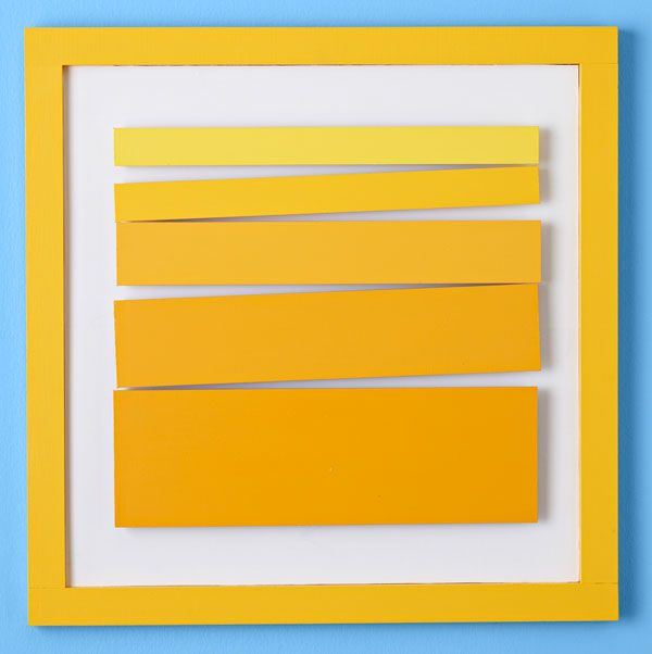 Color Gradient Wall Art Add color to your walls with this graphic ...
