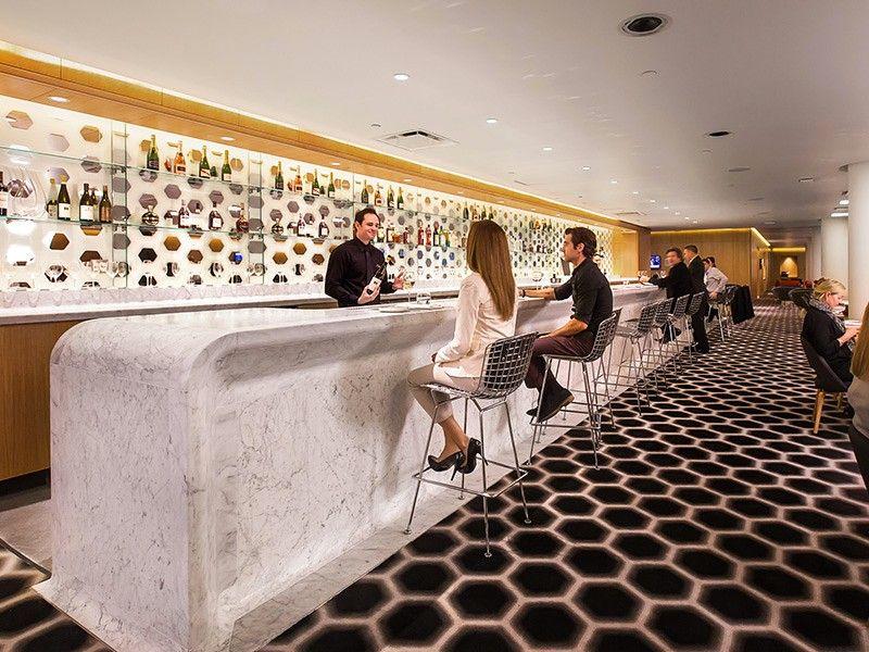 Qantas Lax First Lounge 6 Lounge Interiors Airport Lounge Lounge