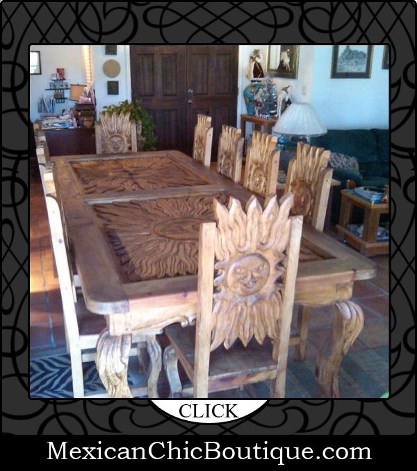 Rustic Home Furnishings And Mexican Garden Decorations By: Mexican Decorations