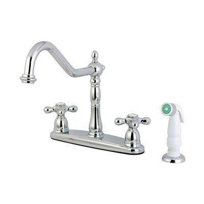 Elements Of Design Kitchen Faucet Eb175 New Orleans Centerset