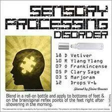 The Essence Of Sensory Processing >> Pin On Essential Oils For Apraxia Autism Spd Adhd And More