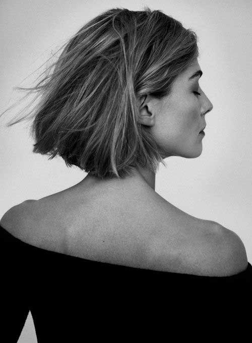les dernières tendances des coupes carrées courte 2018 | Idées de coiffures, Cheveux et Coupe ...