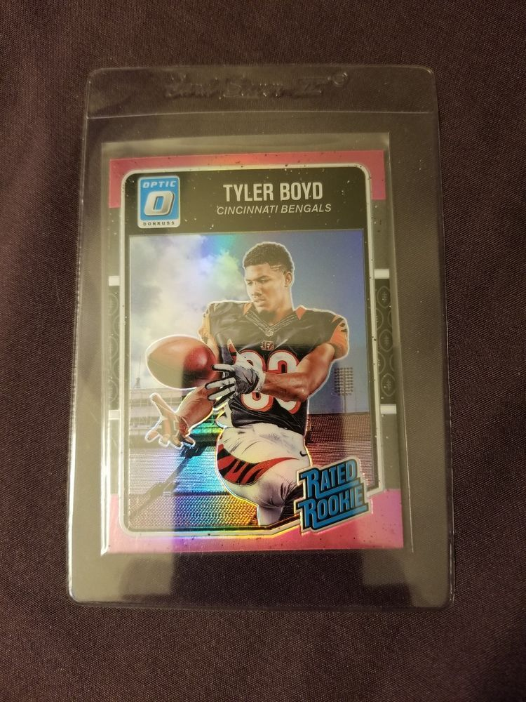 2016 donruss rated rookie pink refractor tyler boyd