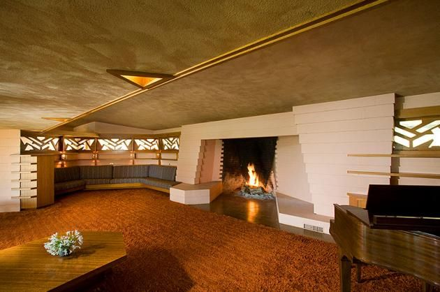 Frank Lloyd Wright Interior Design   Google Search