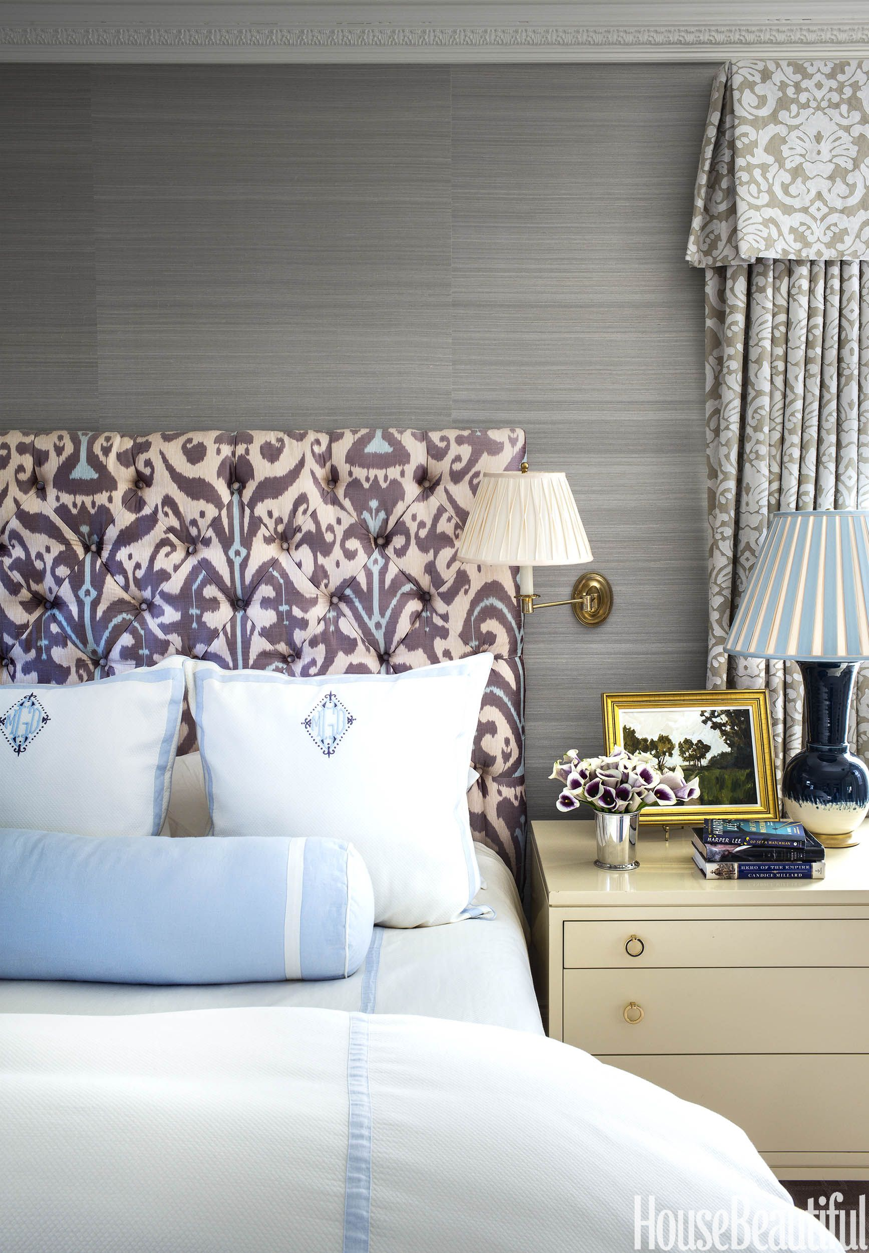 House Beautiful December January 2017 Feature 2 Classic Bedroom Home Decor Restful Bedrooms