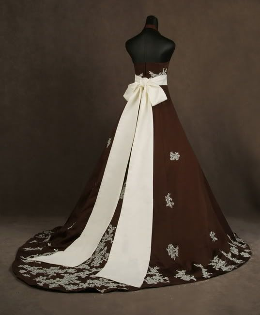 Chocolate Brown Wedding Dresses Fashion And Trend Ideas Where How To A See Photos Guide Ing
